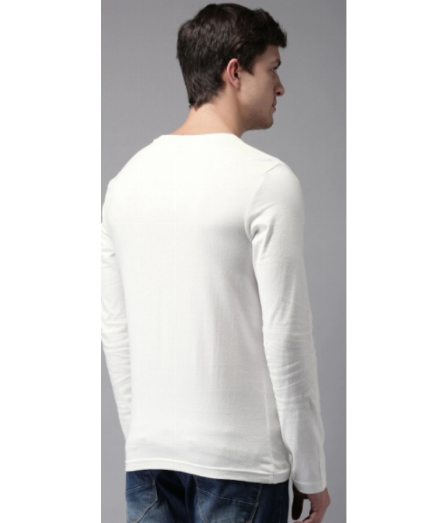 Men Pack of 2 Solid Round Neck T-shirts