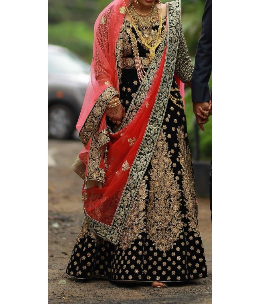 Heavy Worked Wedding Lehenga