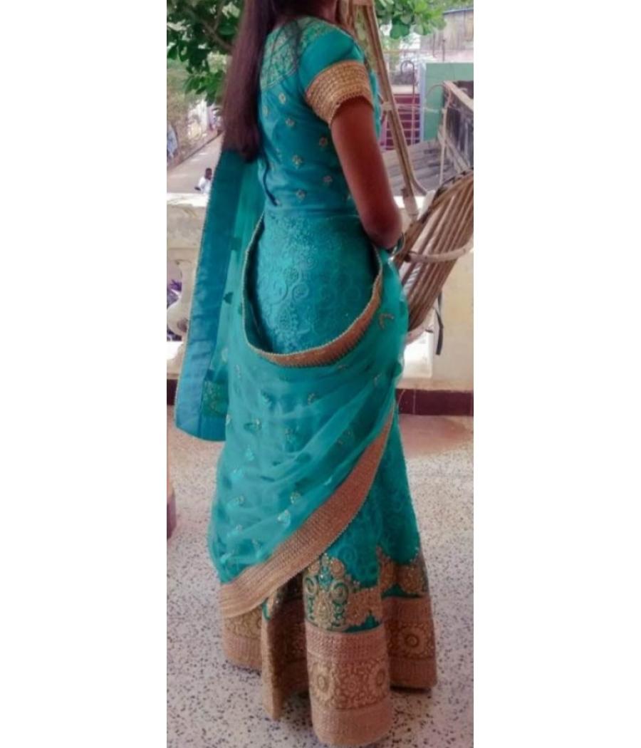 Lehenga choli / Half saree