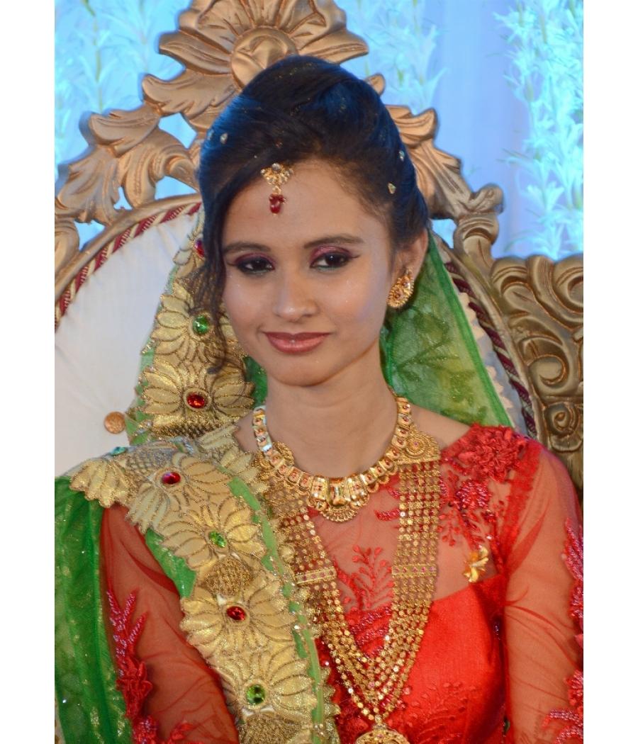 hand made khatli work lehenga choli