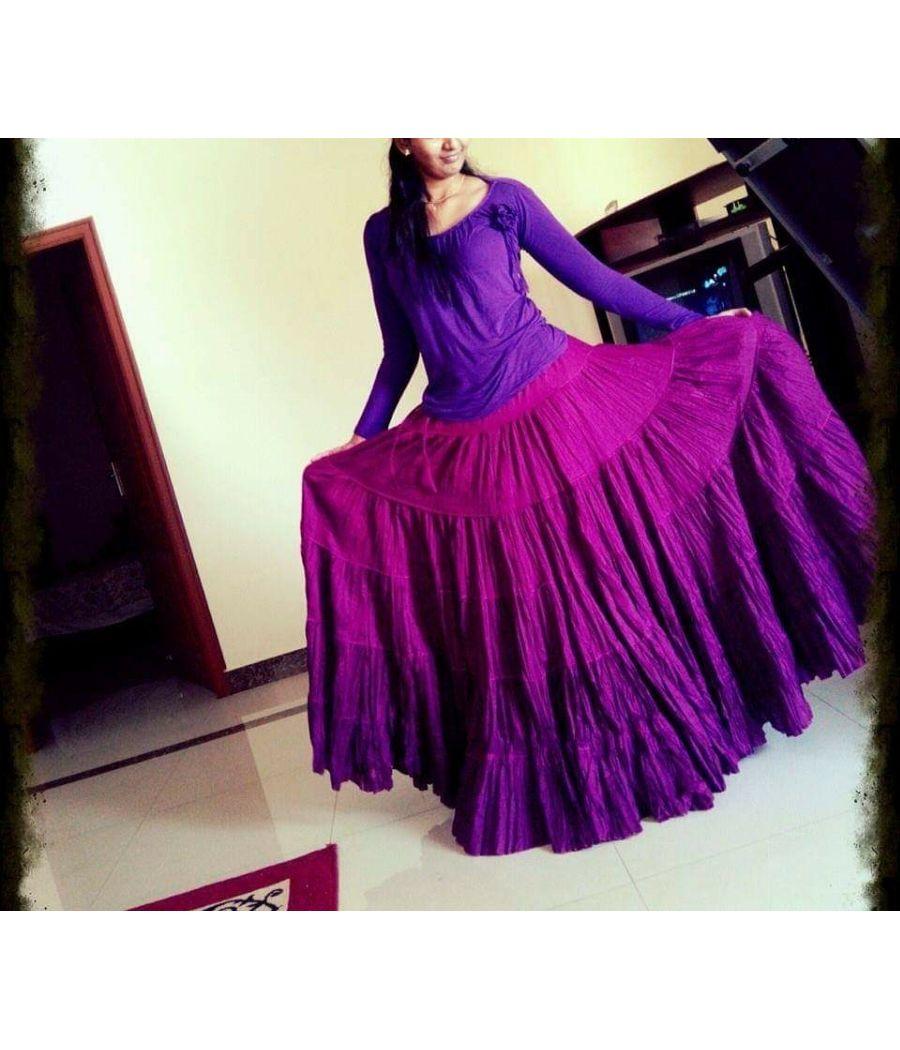 Cotton lehenga/skirt
