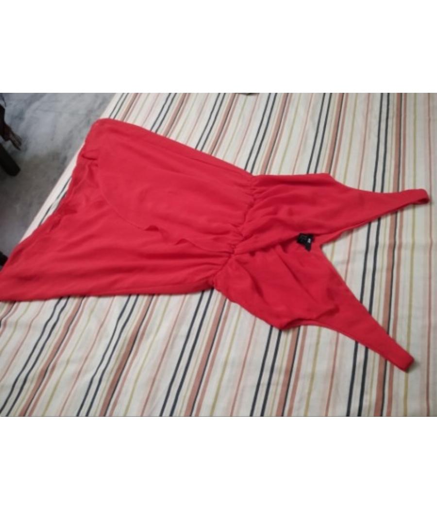 H&M Plain Red Prom Dress