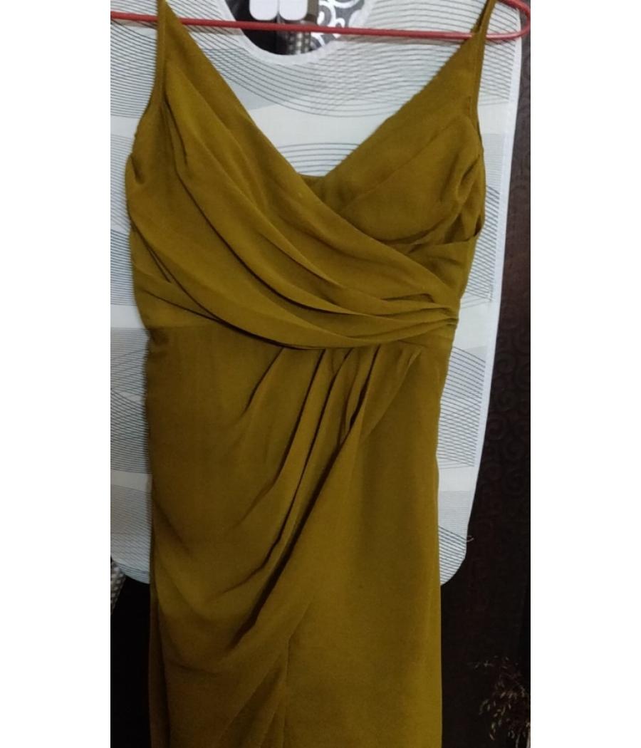 Women's Mustard Cami Dress