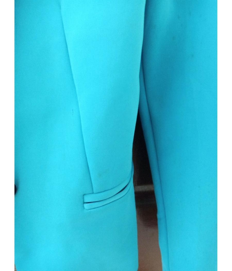 Double lapel collar professional blazer