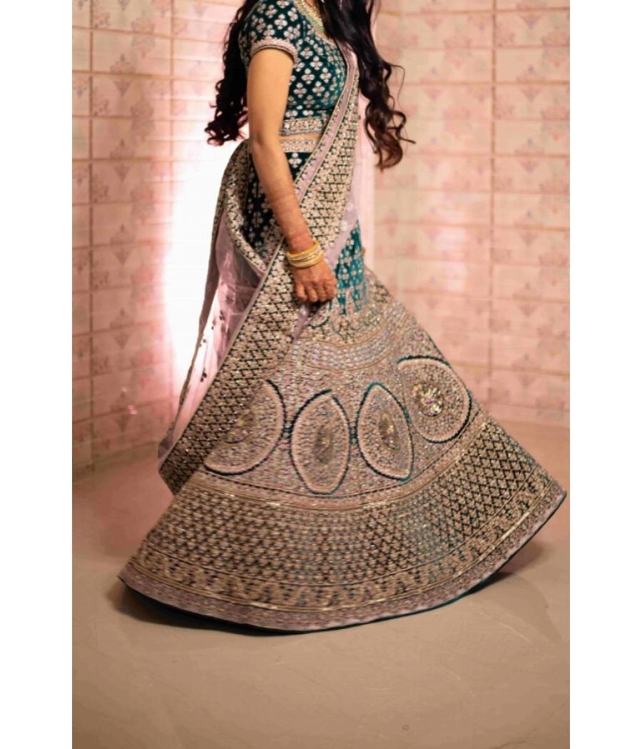 Mayanvar bridal lehenga