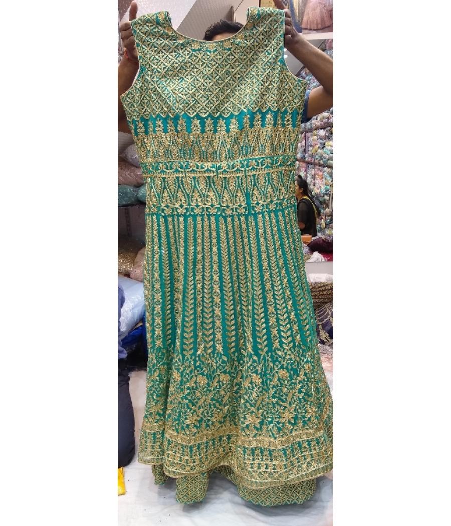 Embroidered Bridal Anarkali Lehenga suit
