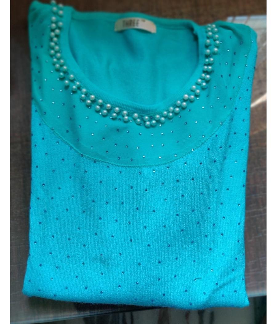 Aqua Pullover