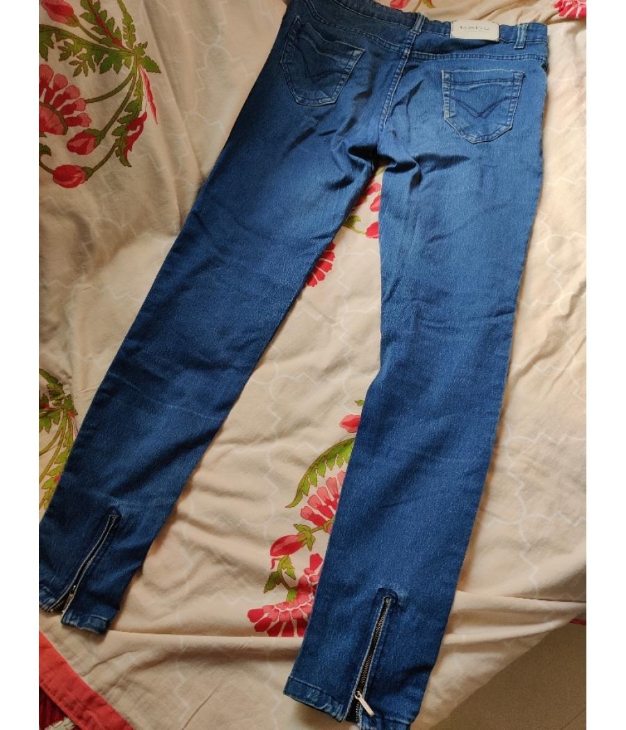 Regular fit blue jeans
