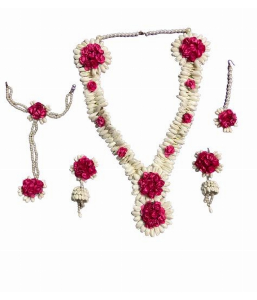 Floral Bridal Jewellery for Mehindi