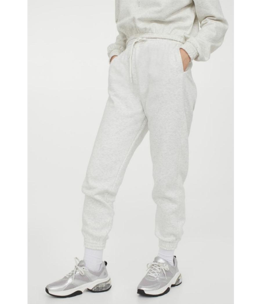H&M High Rise Grey Marl Joggers