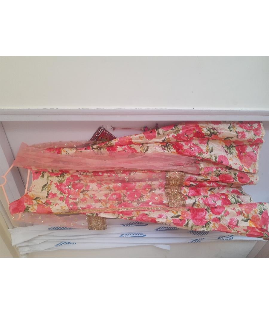 Anarkali gown party wear