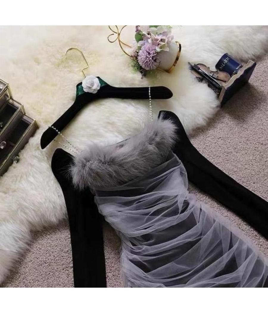 Welda furry party dress