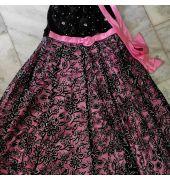Pink Ball Ready Long Velvet Gown
