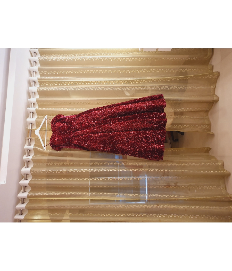 Red imported Ball gown from Dubai