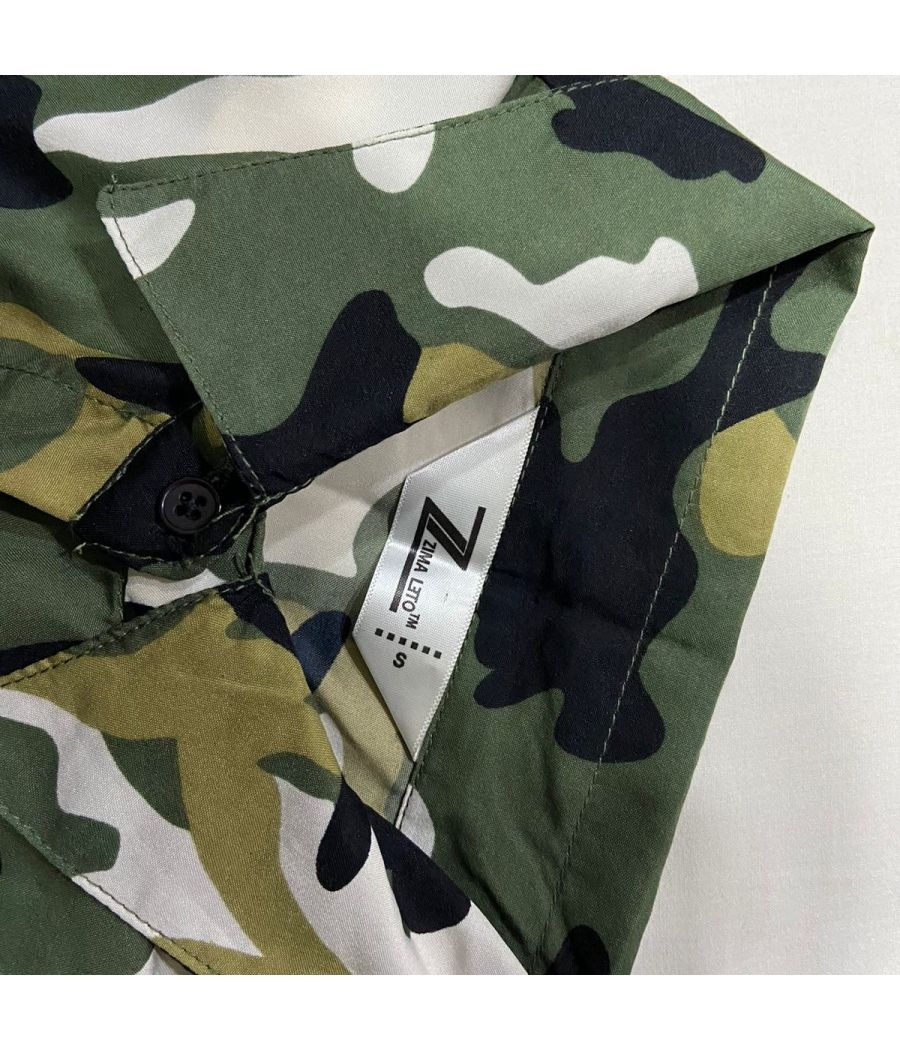 Camouflage Printed Trending Shirt