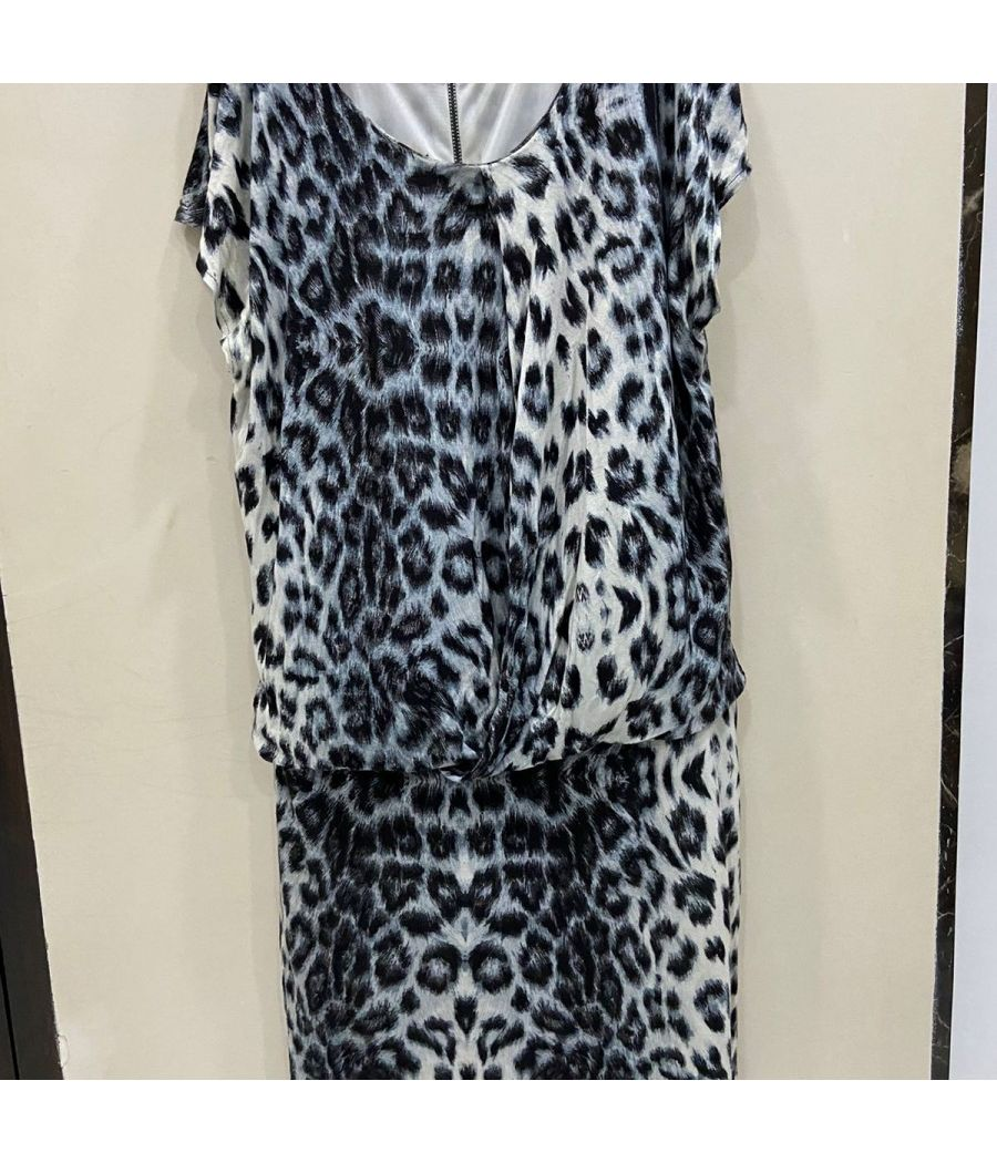 Mango Brand MNG Collection Animal Prints one piece