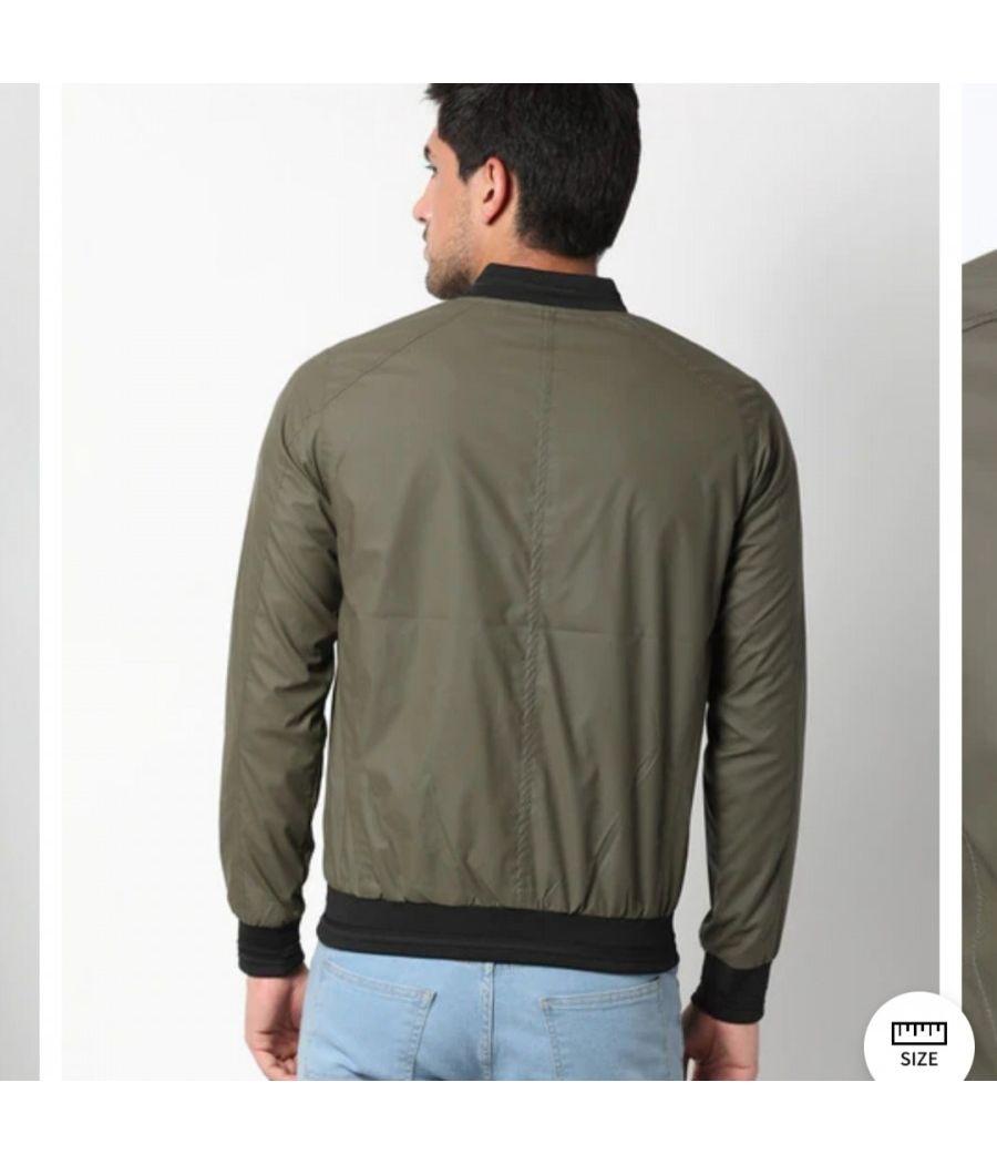 Spykar bomber varcity jacket