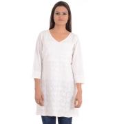 FabIndia Off White Cotton Kurta