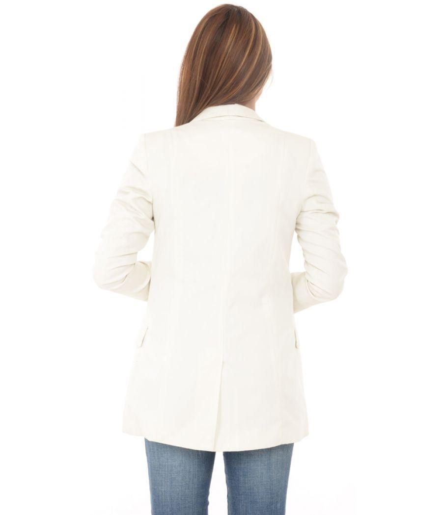 H&M Cream Long Coat