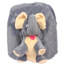 Envie Faux Fur   Grey    Coloured Zipper Closure Backpack