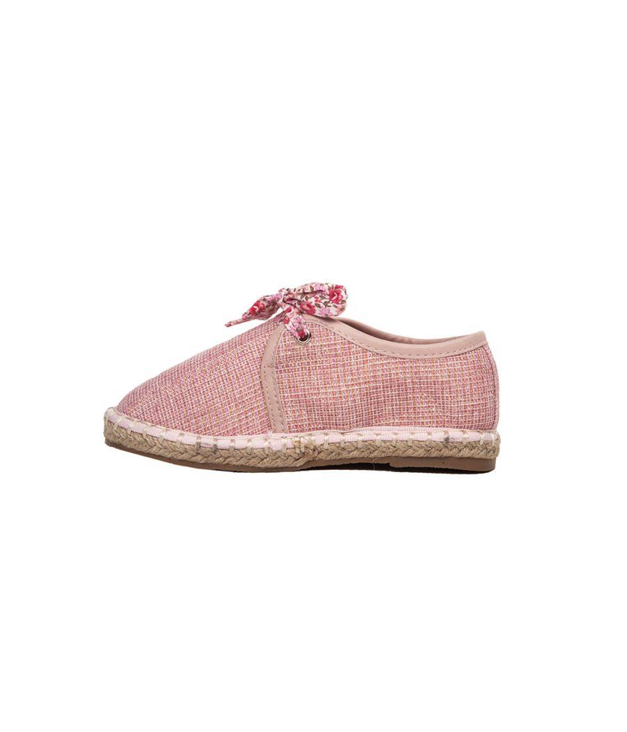 Joy N Fun  Lace Up Casual Pink Sneakers