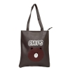 Envie Faux Leather Coffee Brown Coloured Zipper Closure Tote Bag