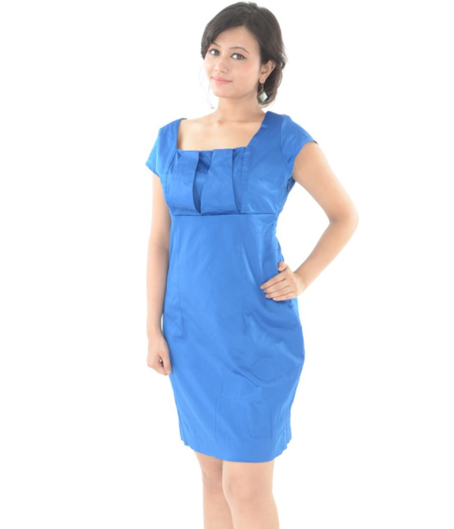 And Blue Dress