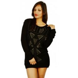 Mango Black Sweater