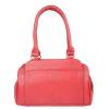 Aliado Faux Leather    Red   Coloured Zipper Closure Tote Bag