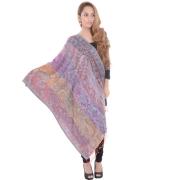 Sanida Modal fabric Embroidered Multi Shawl