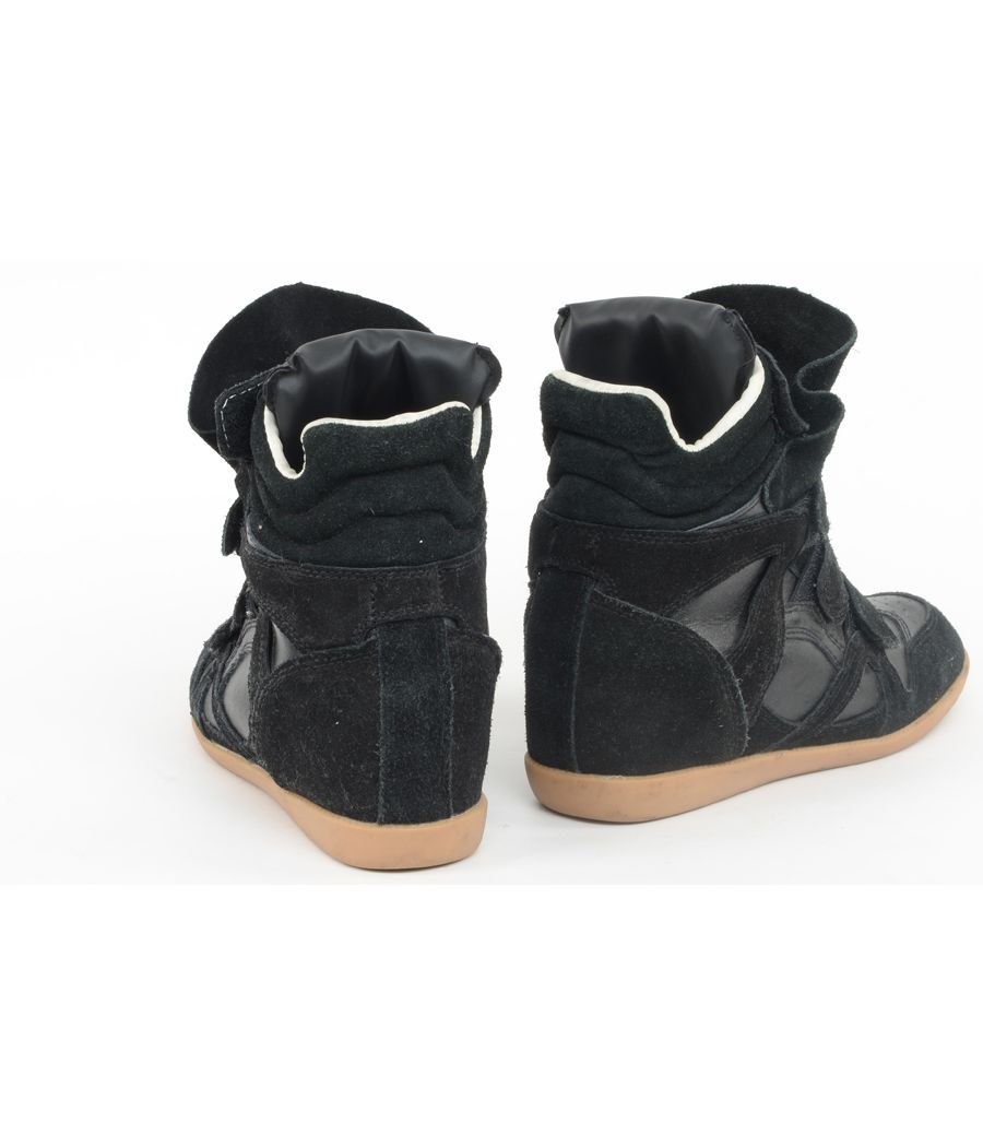 Black High Ankle Shoes