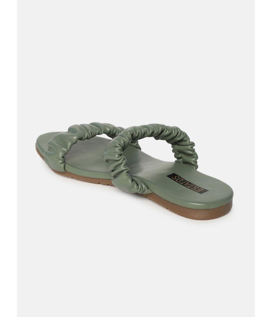 Estatos  Women Sliders Flat Slippers