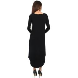 Forever 21 Black High-Low Dress