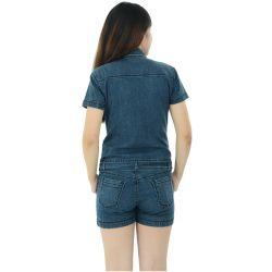 Xpose Women Denim Wonder Romper