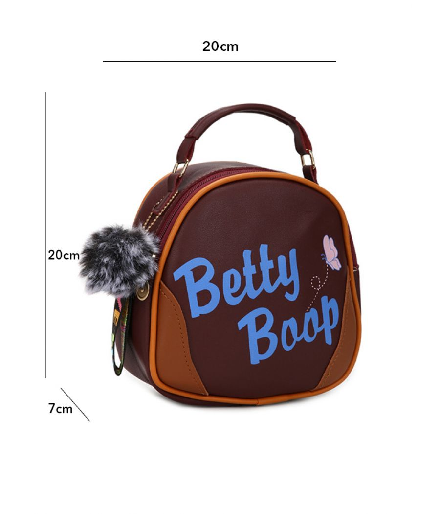 Envie Brown Colour Printed Slingbag for College Girls