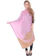 Sanida Modal Printed Pink Shawl