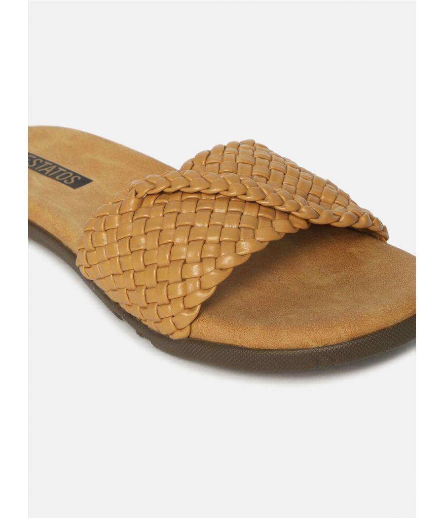 Estatos  Women Sliders Flat Sandals