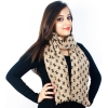 Nude Coloured Woolen Stole
