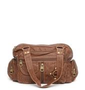 Brown PU Handbag