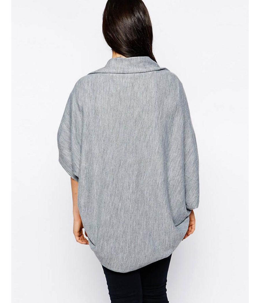 Asos Cotton Grey Shrug