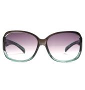 Parim Purple/White Square Sunglasses