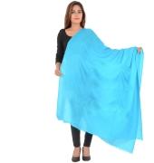 Sanida Modal Solid Blue Shawl