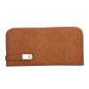 Envie Faux Leather Brown Colour Minaudiere Style Clutch