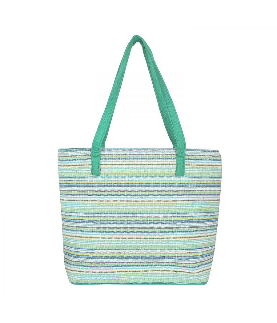 Aliado green colourArtificial Leather Zipper Closure Handbag