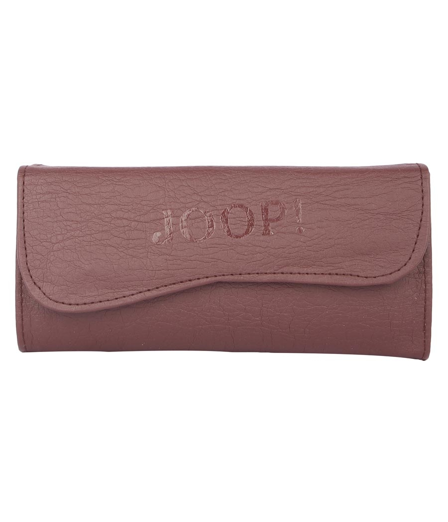 Envie Faux Leather Solid Mauve Coloured Magnetic Snap Clutch