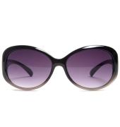 Parim Purple/White Wide Oval Sunglasses