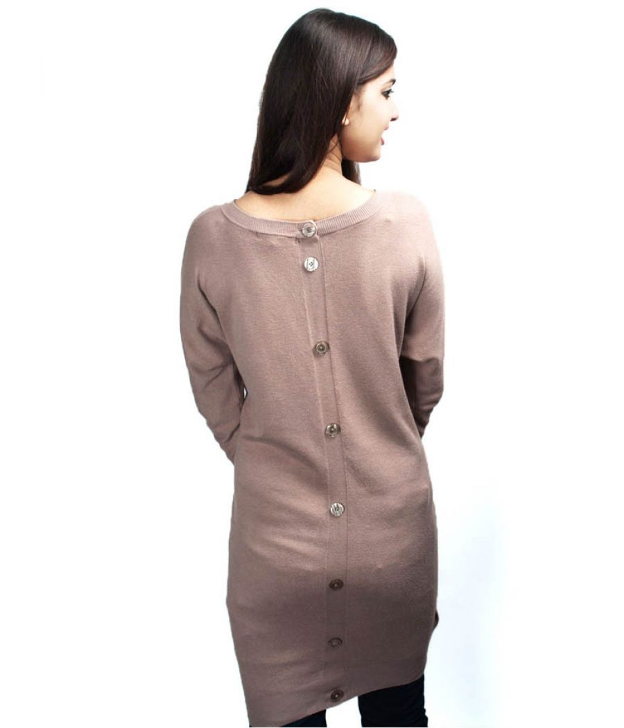 Mango Suite Long Jumper Dress