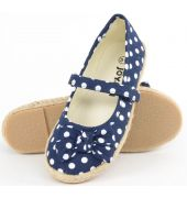 Joy n Fun Blue Polka Dots Bellies for Girl