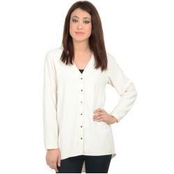 Zara Basic Off White Shirt