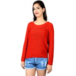 Only Red Knitted Sweater